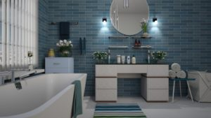 New tiles after bathroom renovation richmond